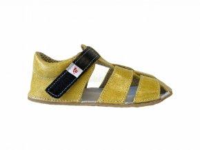 sandály Ef žluté