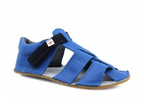 sandály Ef Modrá