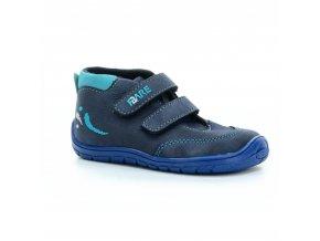 boty Fare 5121203 modré kotníčkové (bare)