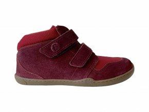 kotníkové barefootové boty