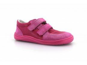 boty Baby Bare Shoes Febo Youth Fuchsia na růžové