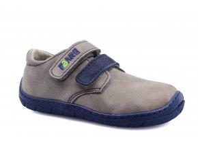boty Fare 5113261 šedé 2 suché zipy (bare)