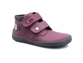boty Fare B5521251 růžové s kytkami kotníčkové (bare)