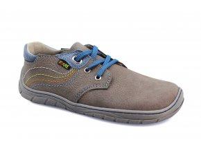 boty Fare B5512262 šedé tkanička (bare)