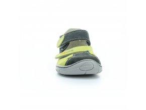 sandály Fare B5461231 zeleno-šedé (bare)