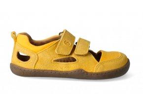 barefootové plátěné sandály letní blifesty
