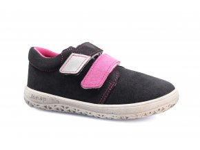boty Jonap B1MV šedo-růžová SLIM