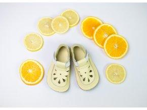sandály/bačkory Baby Bare IO Canary - TS