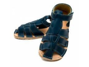 kožené letní sandále