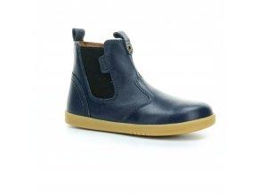 celokožené podzimní boty pro děti