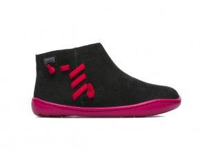 Camper kotníčkové podzimní boty