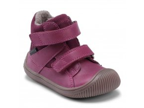 boty Bundgaard Velcro Tex Rose Wine (Walk)