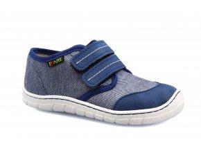 boty Fare 5111403 modré plátěnky (bare)