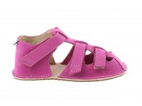 letní barefoot sandálky dívčí