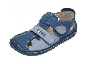 sandály Fare 526120 modré (bare)