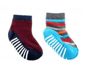 bavlněné ponožky s protiskluzem