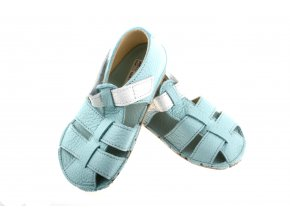 Baby bare acqua sandals