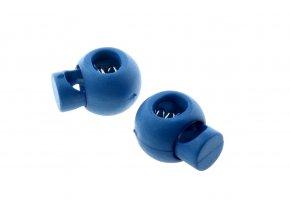 brzdičky kulaté modré, 2 ks