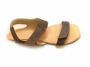 Orto Plus hnědé sandály