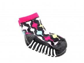 neklouzavé ponožky pro začínající chodce
