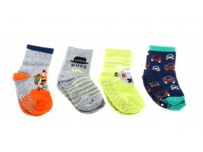 protiskluzové abs ponožky pro děti