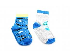 protiskluzové ponožky Seaworld 2 páry (vel. 23-25)
