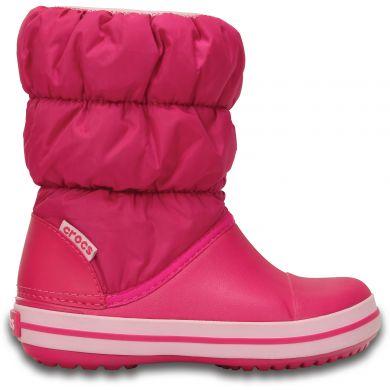 sněhule Crocs Winter Puff boot - candy pink Velikost boty (EU): 24, Vnitřní délka boty: 150, Vnitřní