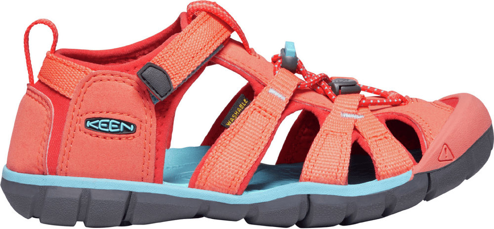 sandály Keen Seacamp Coral/Poppy red AD (CNX) Velikost boty (EU): 37