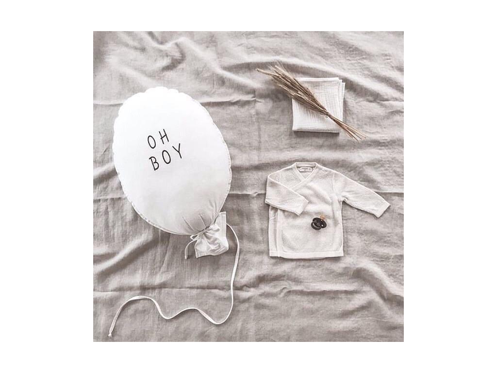 Vankúšik Malomi Balloon Ecru