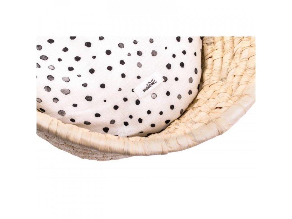 bambusove prestieradlo dots (1)