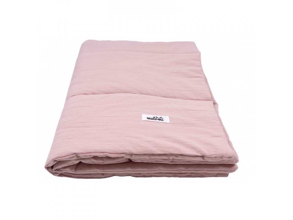 prikryvka WASHED COTTON dusty pink (1)