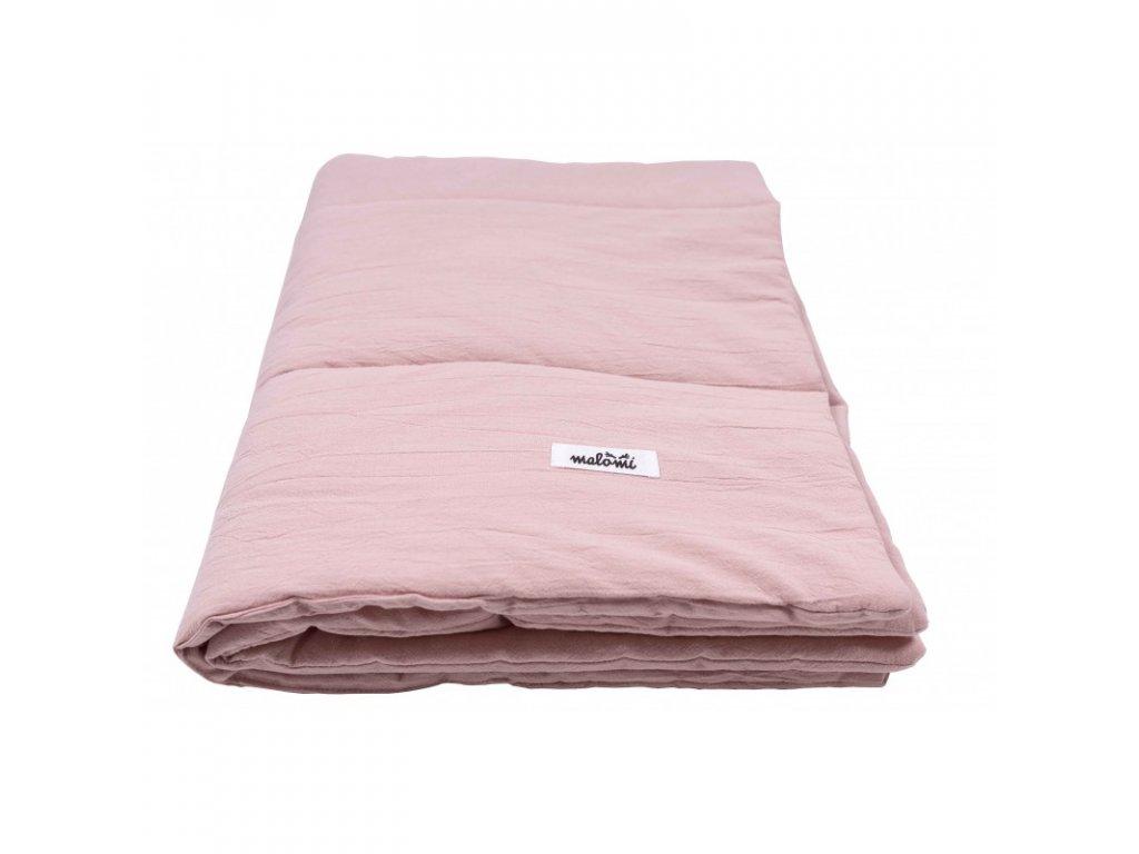 prikryvka WASHED COTTON dusty pink (1)