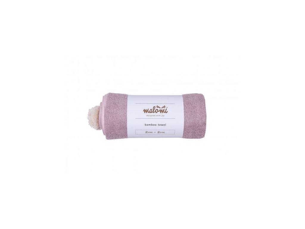 bambusova osuska malomi dusty pink s 1