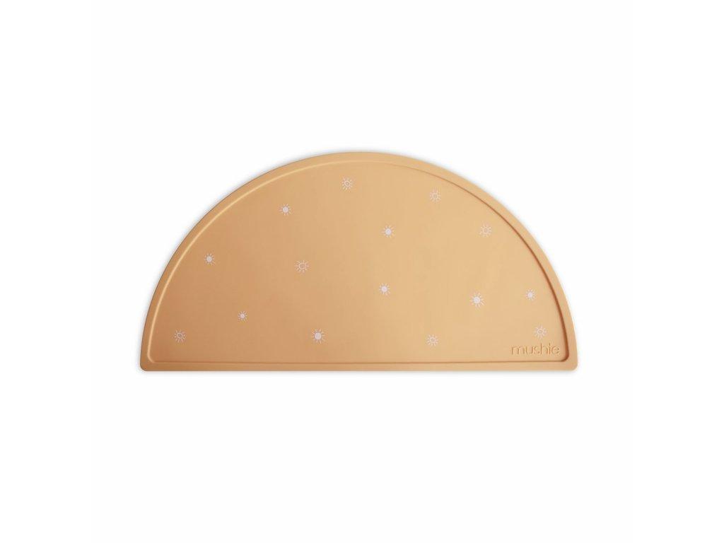 Mushie silikónové prestieranie - Sun orange