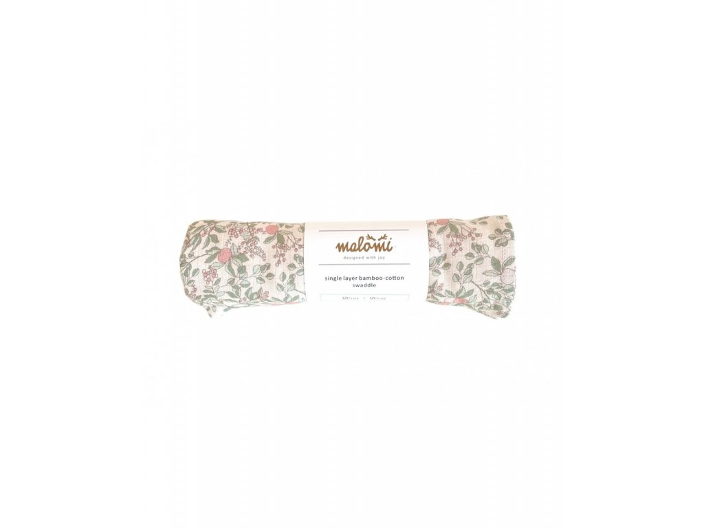 swaddle bamboo apricot natural