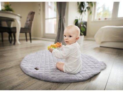 Hracia podložka Sleepee Royal baby Playing Mat - Sivá
