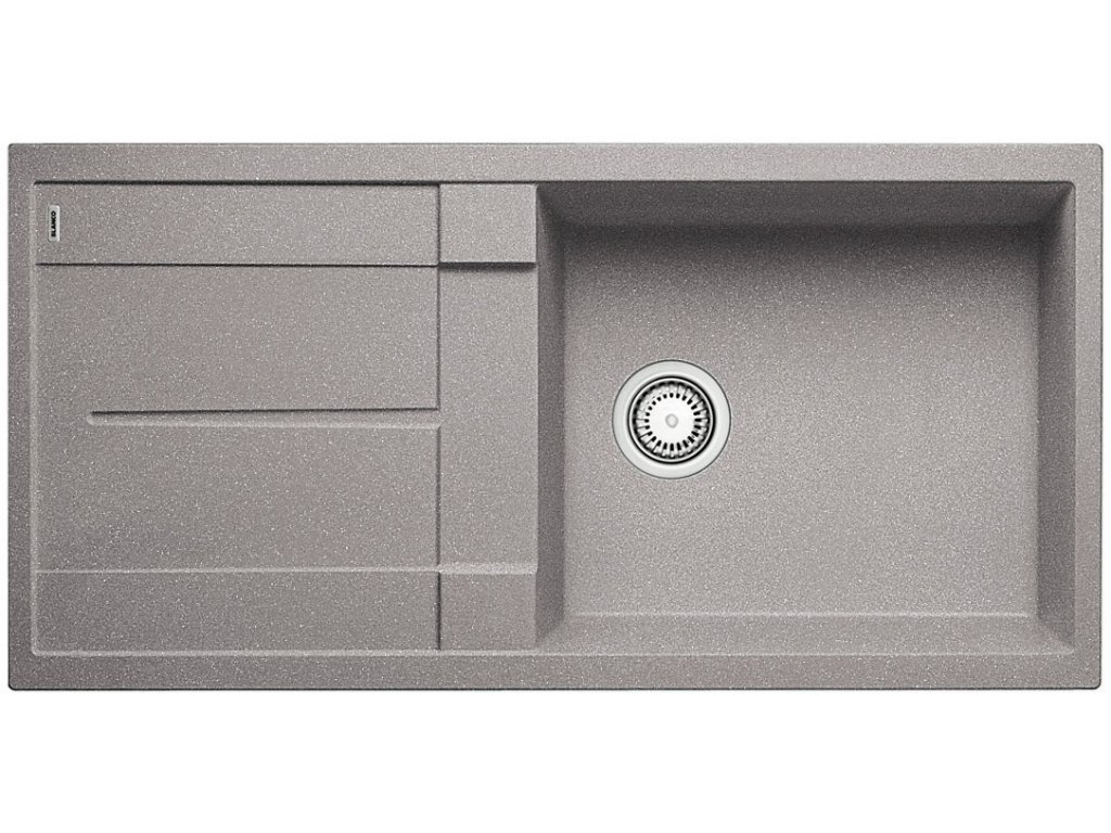 Blanco METRA XL 6 S Silgranit aluminium oboustranné provedení