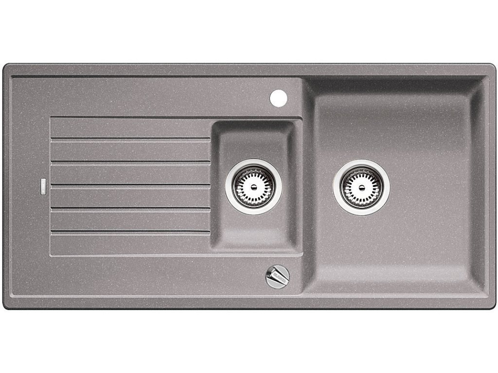 Blanco ZIA 6 S Silgranit aluminium oboustranné provedení s excentrem