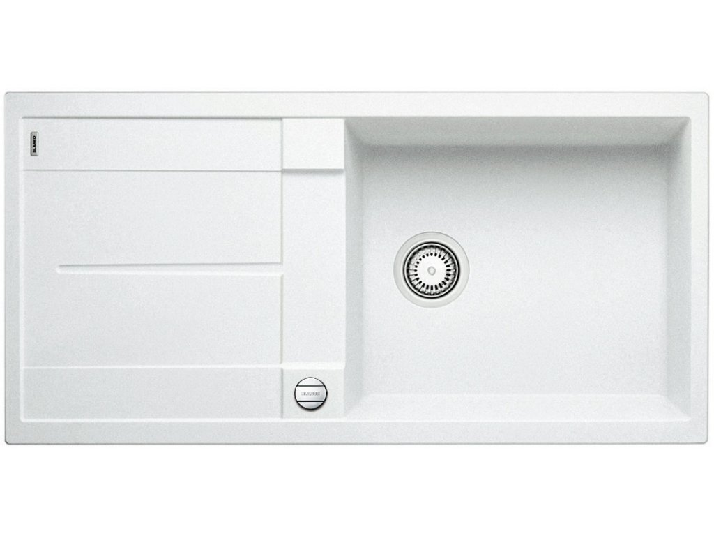 Blanco METRA XL 6 S Silgranit bílá oboustranné provedení s excentrem