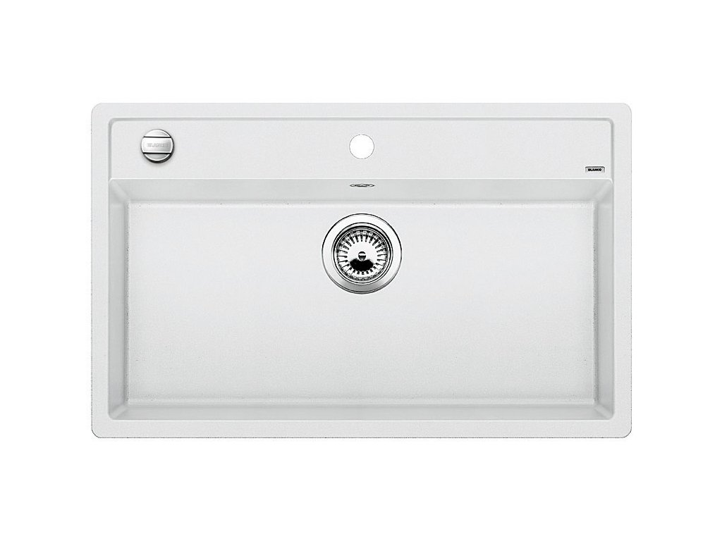 Blanco DALAGO 8 Silgranit bílá oboustranné provedení s excentrem