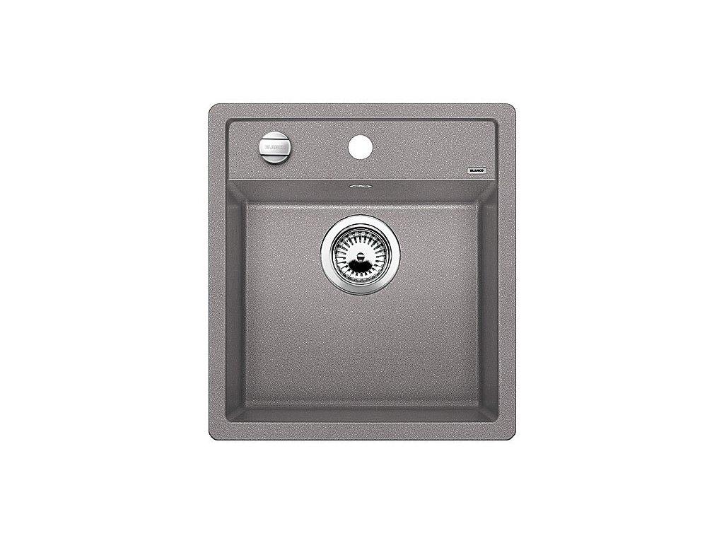 Blanco DALAGO 45 Silgranit aluminium s excentrem