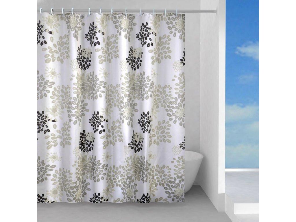 CAFFE sprchový závěs 180x200cm, polyester