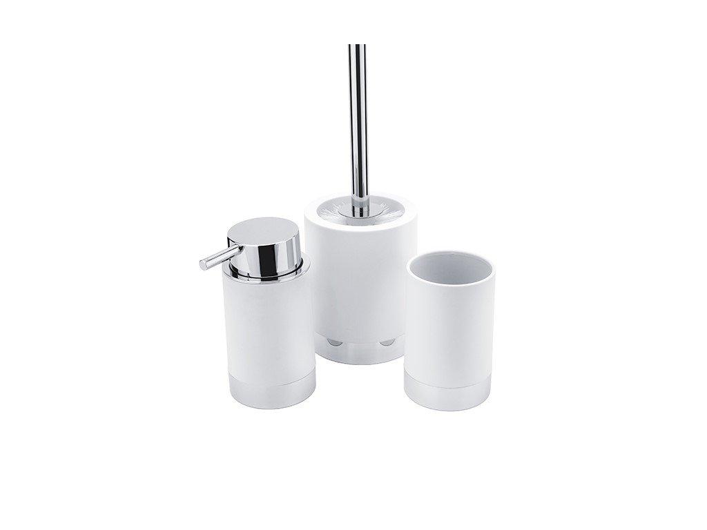 Dávkovač, pohárek, WC kartáč