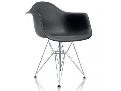 Jídelní židle - křeslo REGIA černá