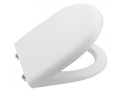 ABSOLUTE / RIGA WC sedátko, duroplast, bílá