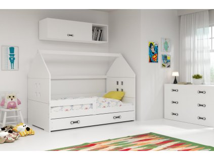 Dětská postel Dominik 80x160 bílá
