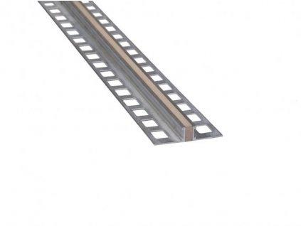 CJL dilatace ALU H10 250cm hnědá