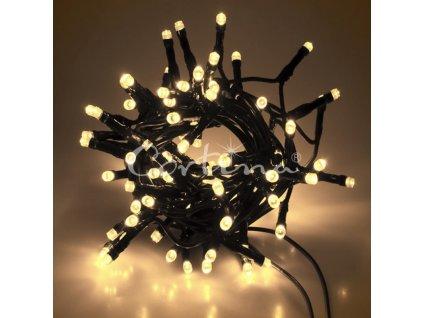 LED osvětlení vnitřní - klasická, tep. bílá, 8 m