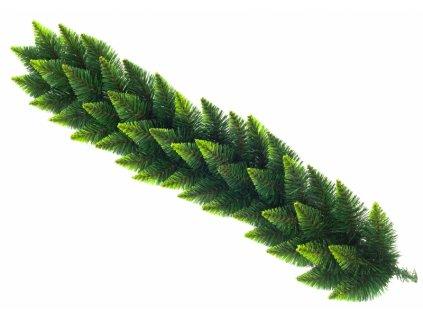 Vánoční dekorace - girlanda zelená 100 cm - Akce