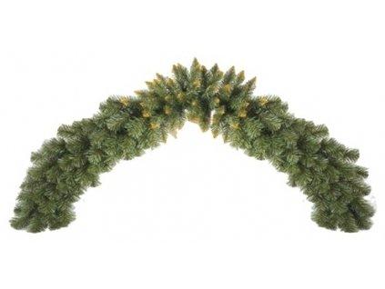 Vánoční dekorace - girlanda zlatá 150 cm - Akce